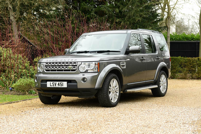 Image of a Land Rover Discovery
