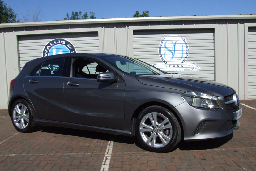 Image of a Mercedes A Class