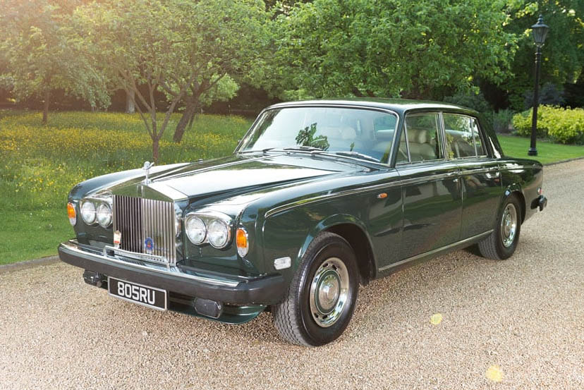 Image of a Rolls Royce Silver Shadow
