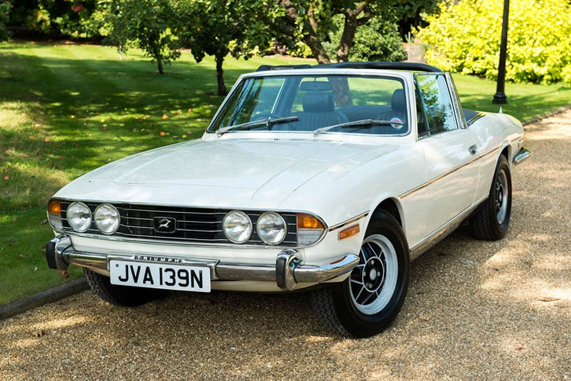 Image of a Triumph Stag