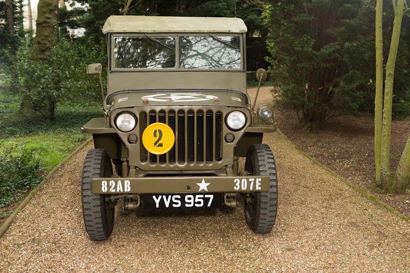 Image of a Willys US Army Jeep